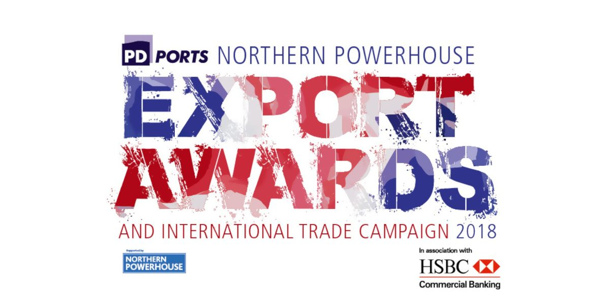 PD Port Northern Powerhouse Export Awards (logo)