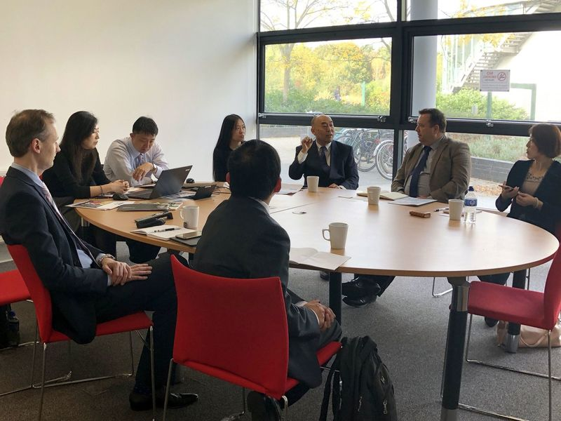Round the table discussions between the CIECC delegates,  Nottingham University, and ACOLINK (Nottingham, Oct 2018) / ©ACOLINK ©CIECC