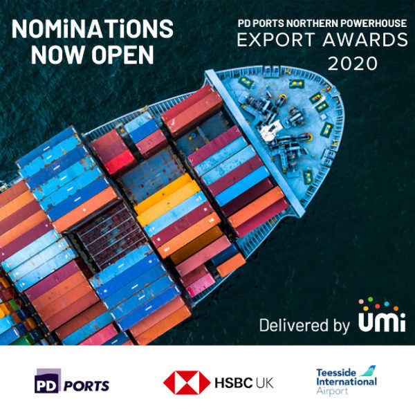 PD Ports Northern Powerhouse Business Export Awards / delivered by UMi