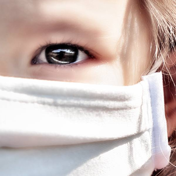 Protective face masks become more common as an important infection control measure
